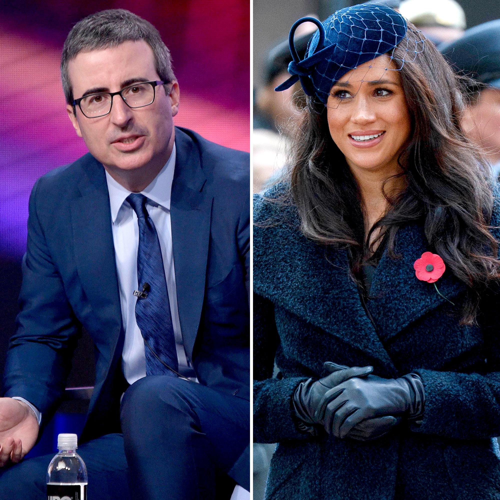 John Oliver Warned Meghan Markle About Joining the Royal Family in 2018