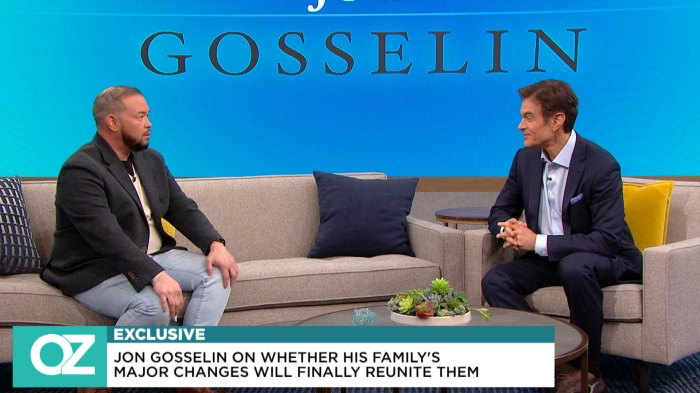 Jon Gosselin Dr Oz Disconnect With Kids COVID-19