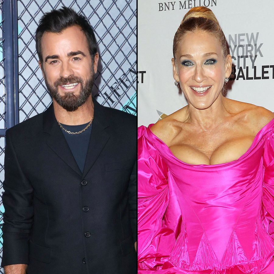 Justin Theroux Reveals If He'd Return for the Sex and the City Reboot Sarah Jessica Parker