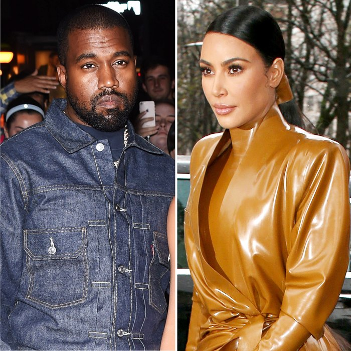 Kanye West Good Spirits Amid Kim Divorce Working on Next Album