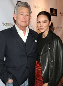 Katharine McPhee Shares Inspiration Behind Her and David Foster's Son Rennie's 'Strong' Name