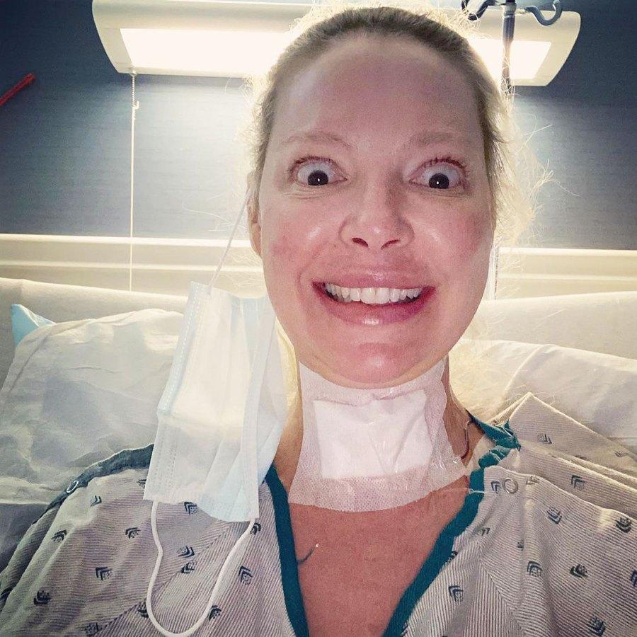 Katherine Heigl Updates Fans After Neck Surgery