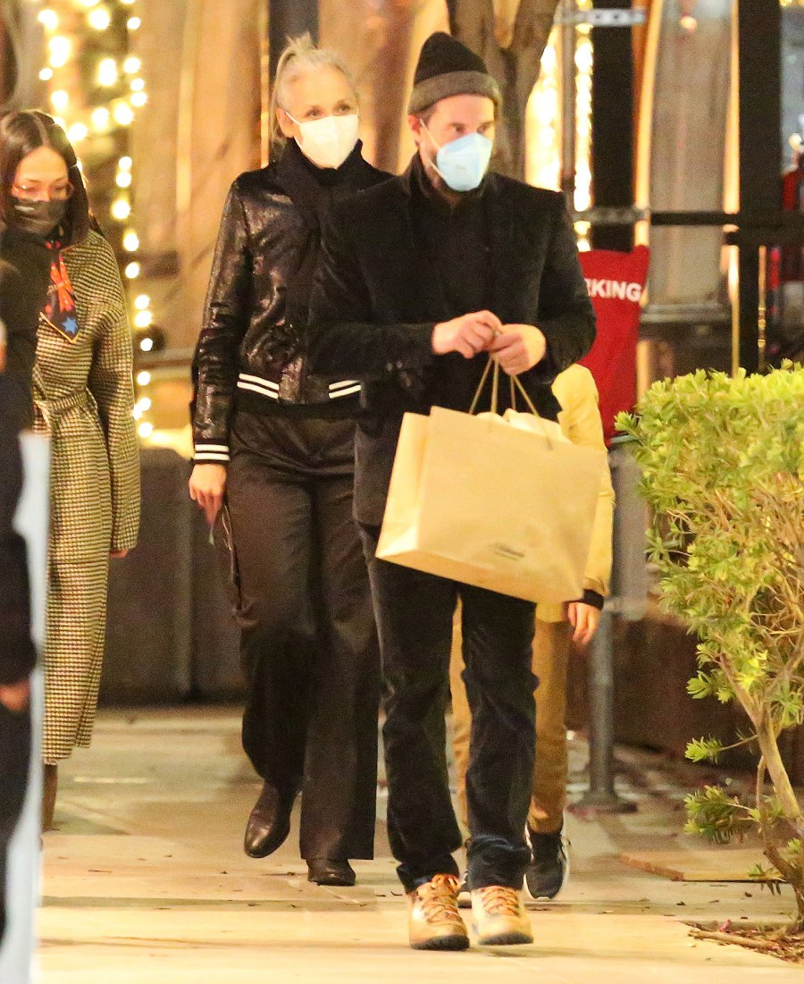 Keanu Reeves and Alexandra Grant Enjoy Rare Night Out