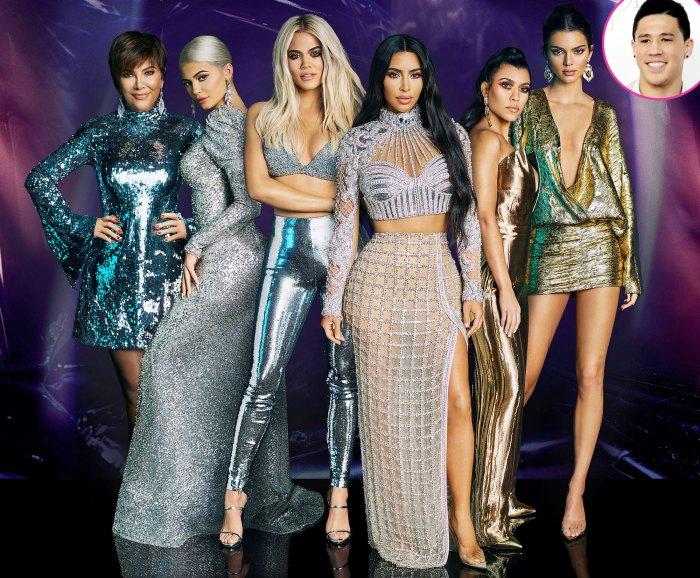 A la familia Kardashian le gusta Kendall Jenner BF Devin Booker