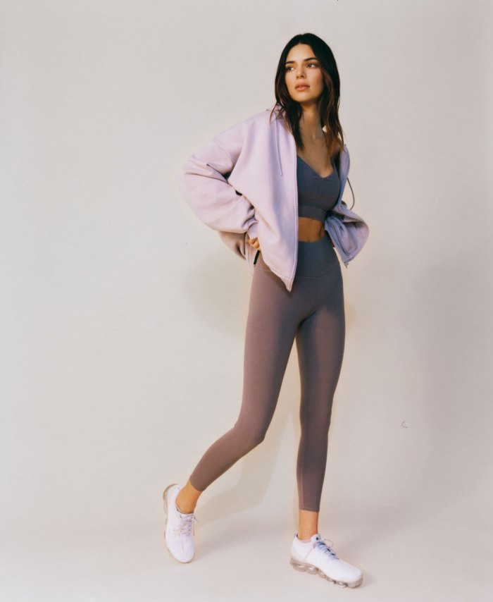 Kendall Jenner Self-Styled Her First Alo Yoga Campaign