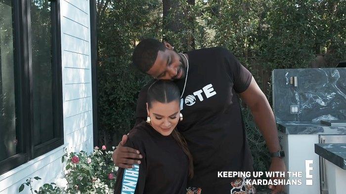 Khloe Kardashian Tristan Thompson Consider Surrogacy in KUWTK Trailer p