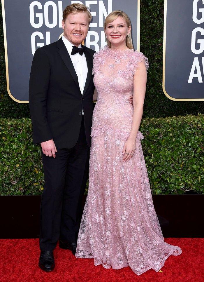 Kirsten Dunst está embarazada y espera un segundo hijo con su esposo Jesse Plemons