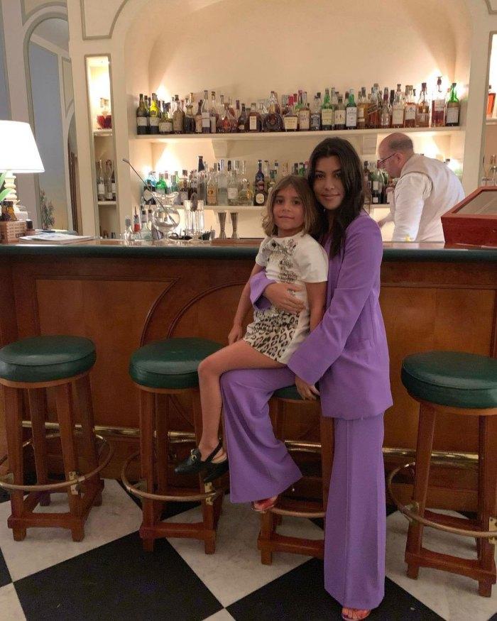La hija de Kourtney Kardashian, Penélope, recrea la escena de llorar hasta dormir en TikTok