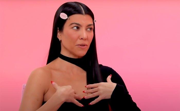 Kourtney Kardashian tomó ser llamado el menos emocionante de mirar personalmente