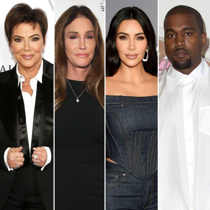 Kris Jenner and Caitlyn Jenner Breaks Their Silence on Kim Kardashian and Kanye West Divorce