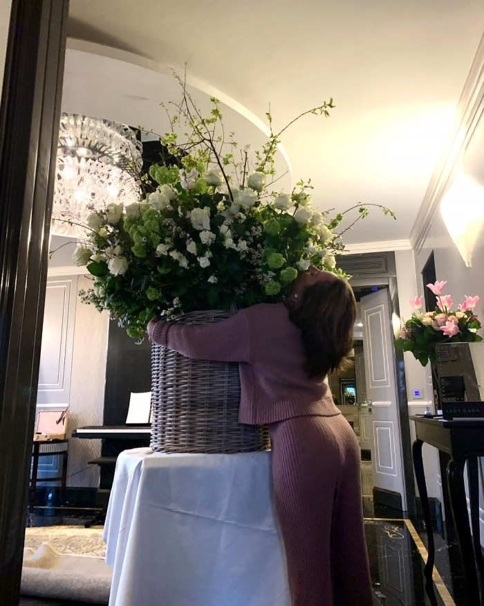 Lady Gaga's Boyfriend Michael Polansky Sends Giant Flowers to Rome for Her Birthday: 'Love You Honey