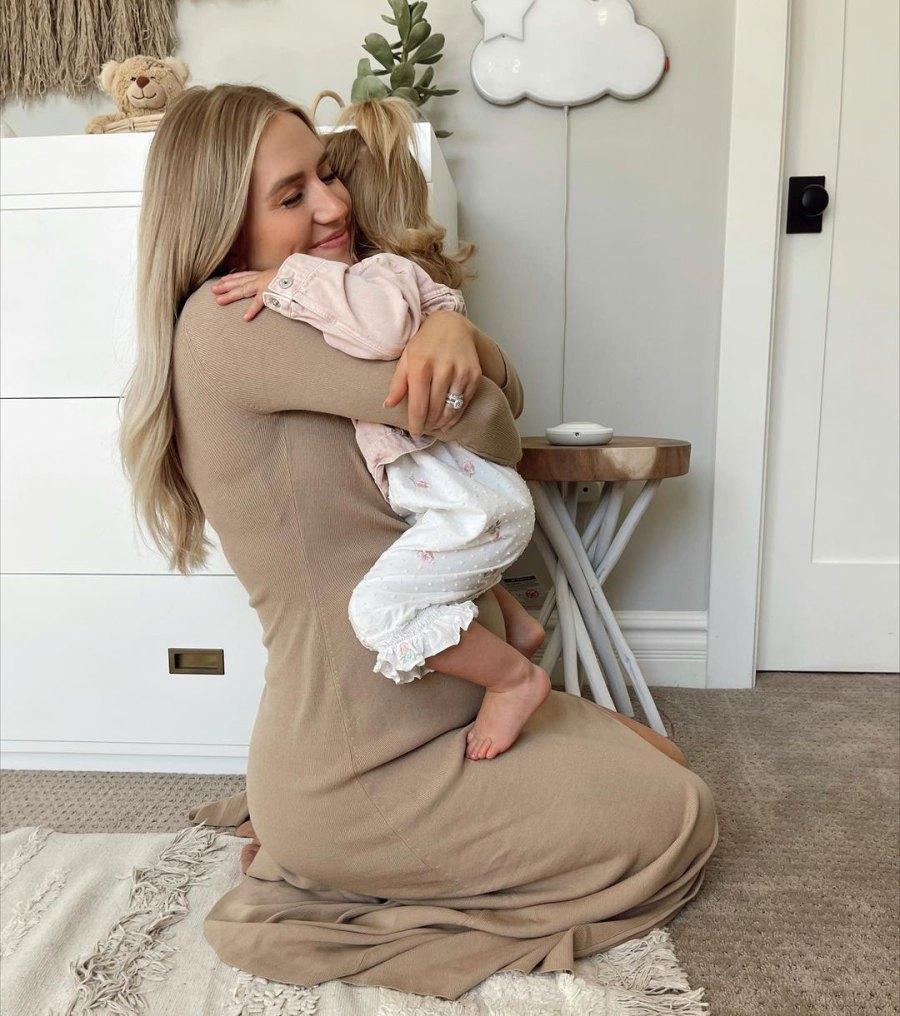 Lauren Burnham Luyendyk Hug Alessi