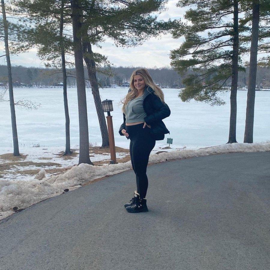 Lauren Sorrentino Instagram Inside Jersey Shore Pregnant Deena Cortese and Lauren Sorrentino Joint Babymoon