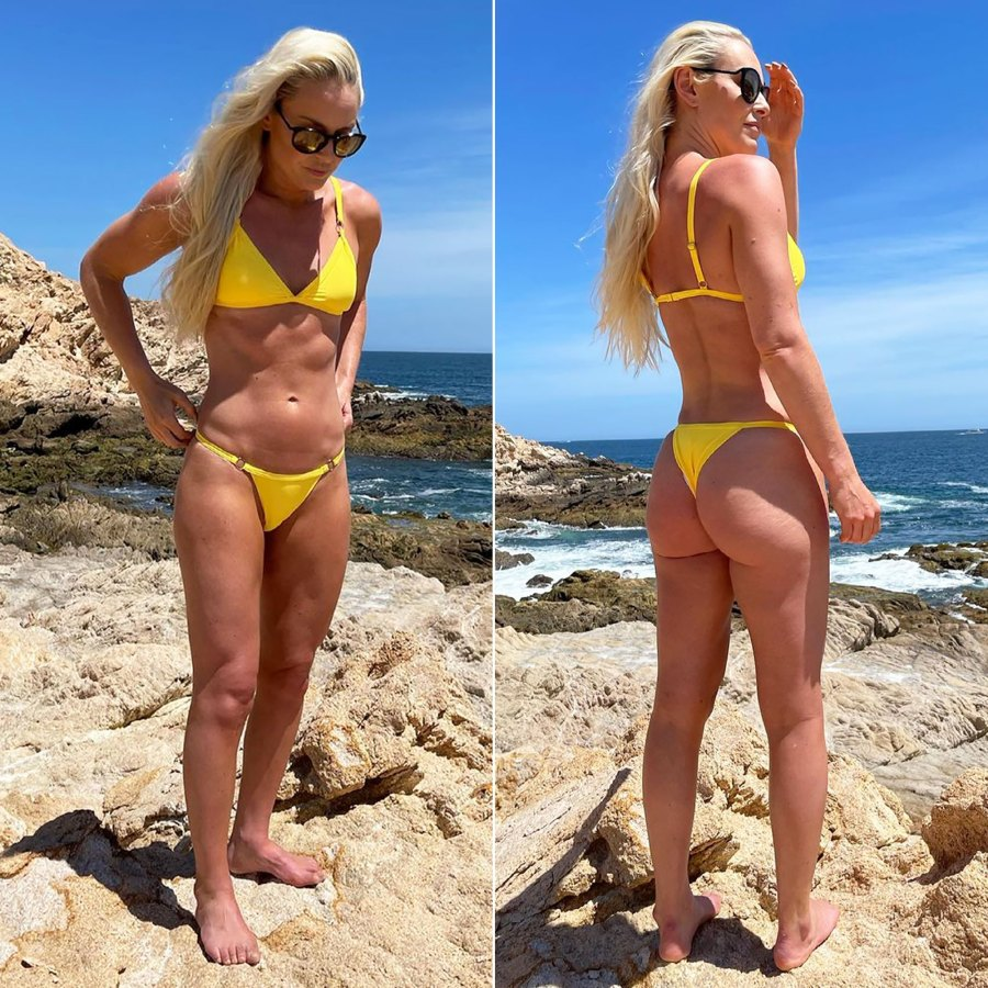 Lindsey Vonn Shows Off Insanely Fit Body in Yellow Bikini: Pic
