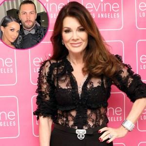 Lisa Vanderpump Says Scheana Shay Pregnancy News Was Quick New Brock Davies Relationship