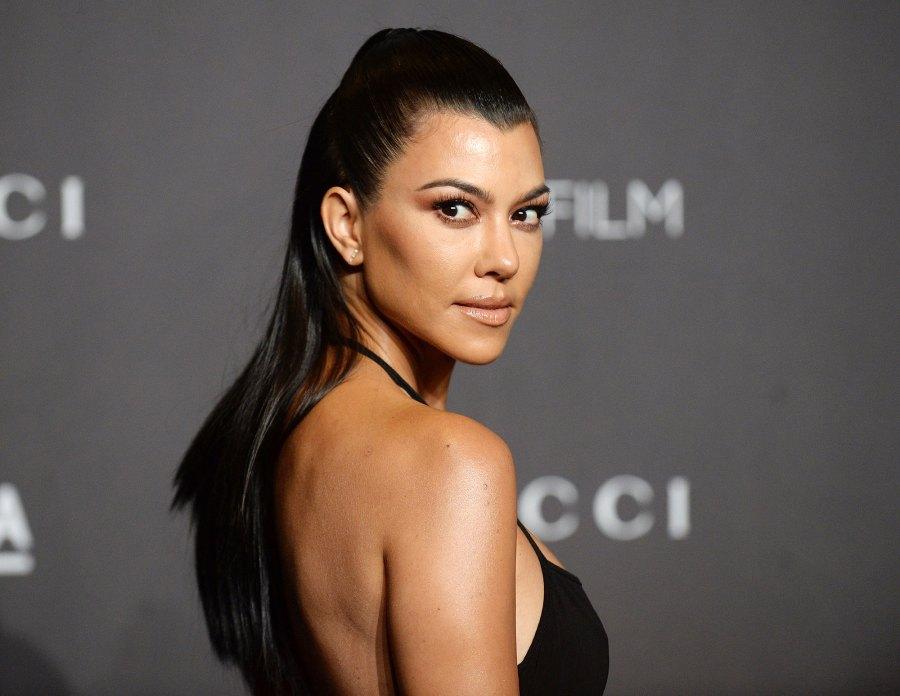 Long Locks Kourtney Kardashian Kardashian-Jenner Sisters Parenting Clapbacks Over the Years