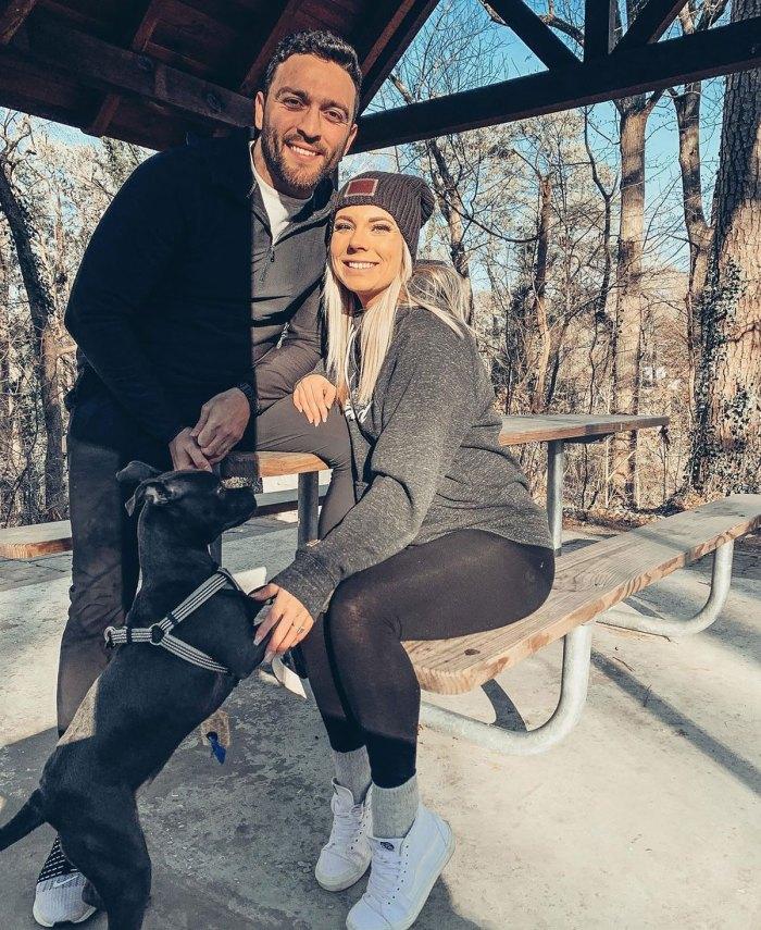 Mark Cuevas de Love Is Blind y su prometida Aubrey Rainey dan la bienvenida a su primer hijo