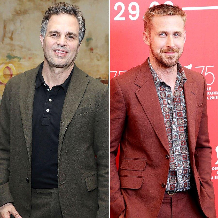 Mark Ruffalo Ryan Gosling Male Celebrities Who Are Proud Feminists
