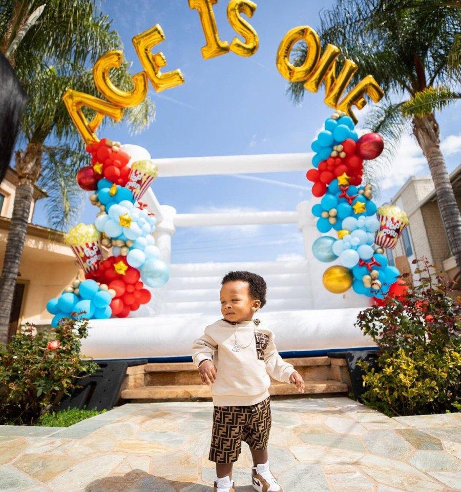 Birthday Boy Malika Haqq Celebrates Her OT Genasis Son Ace 1st Birthday