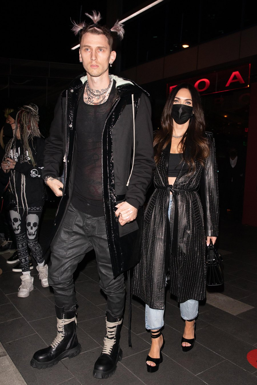 Megan Fox and Machine Gun Kelly Double Date With Avril Lavigne and Mod Sun