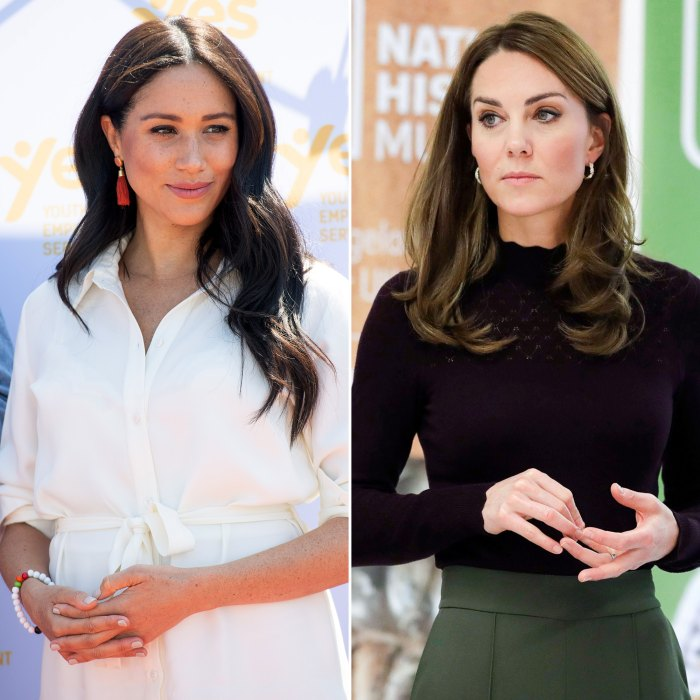Meghan Markle Addresses Rumored Rift With Duchess Kate in Tell-All Interview
