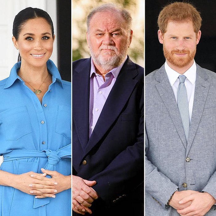 Meghan Markle Dad Thomas Markle Admits He Once Hung Up on Snotty Prince Harry