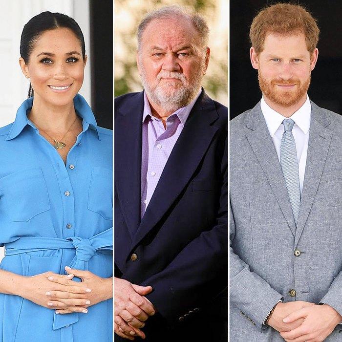 Meghan Markle's Dad Thomas Admits He Hung Up on Prince Harry