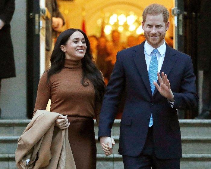 Meghan Markle y el príncipe Harry nombran niña