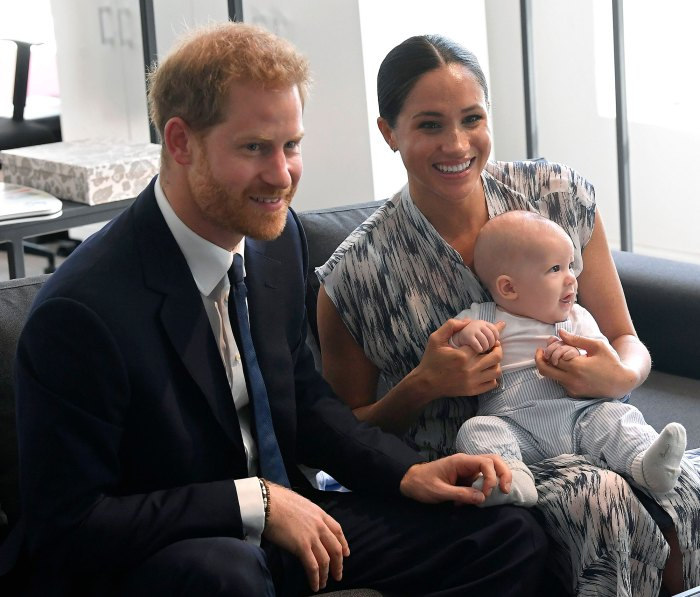 Meghan Markle, Prince Harry's Son Archie Makes Cameo in ...