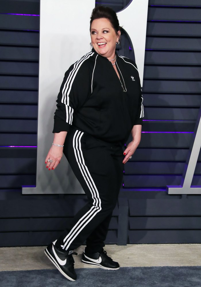 Melissa McCarthy Was 'Flipped Off' for Wearing a Tracksuit to the Oscars