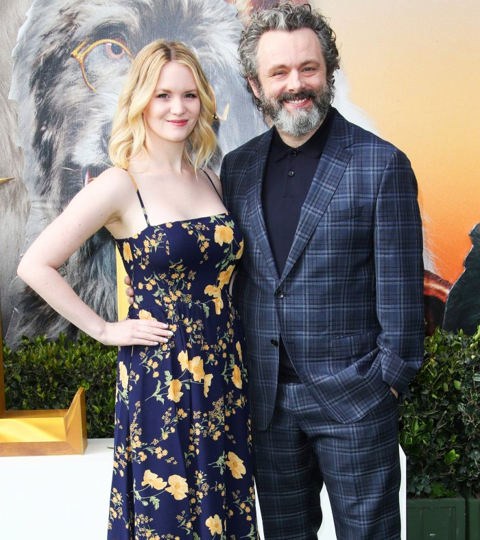 Michael Sheen Quite Scary Battling COVID With GF Anna Daughter