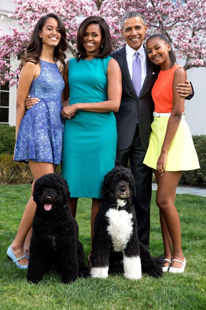 Michelle Obama dice que todas sus cosas le faltan con 2 hijas desordenadas Barack Obama Malia y Sasha