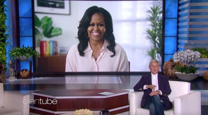 Michelle Obama dice que todas sus cosas le faltan con 2 hijas desordenadas Ellen DeGeneres