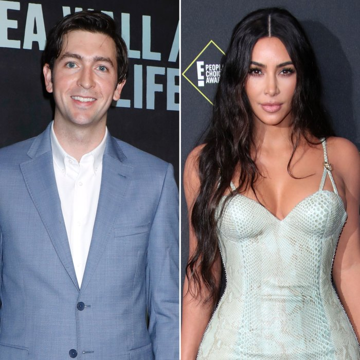 Nicholas Braun admite que su plan para cortejar a Kim Kardashian no funcionó