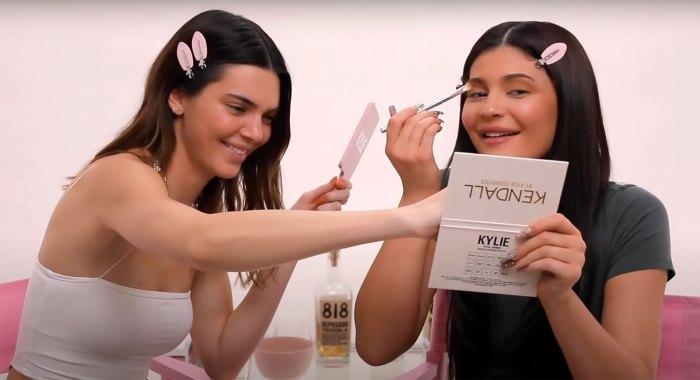 ¡DIOS MÍO!  Kendall y Kylie Jenner tienen 16 tomas en el video 'Get Ready With Me'