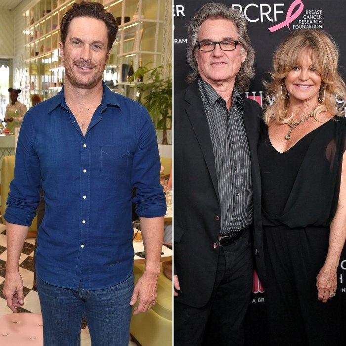 Oliver Hudson se entusiasma con las habilidades de abuelos 'increíbles' de Kurt Russell y Goldie Hawn