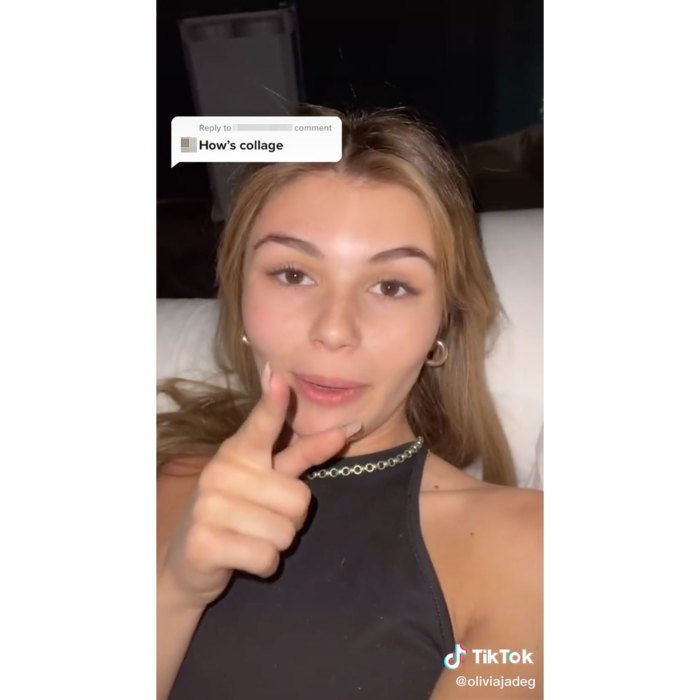 Olivia Jade Giannulli Claps Back at Troll Commenting on College Status After Scandal