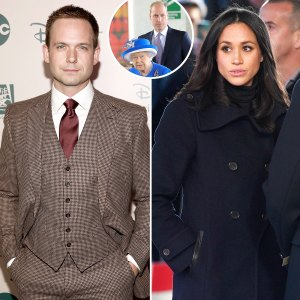 Patrick J. Adams Tears Into Royal Family Amid 'Obscene' Meghan Markle Drama
