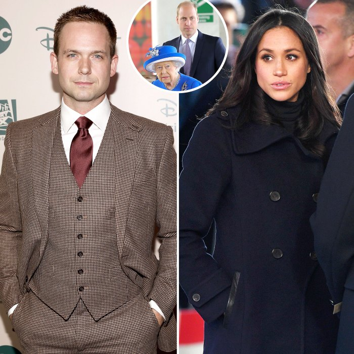 Patrick J Adams Tears Into Royal Family Amid Obscene Meghan Markle Drama