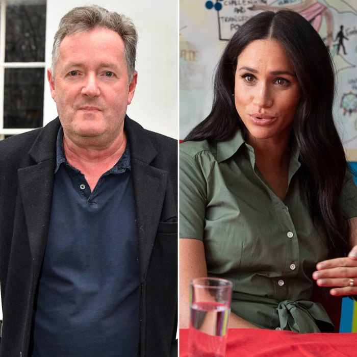 Piers Morgan Says His Sons Have Received 'Venomous' Threats After Meghan Markle Fallout