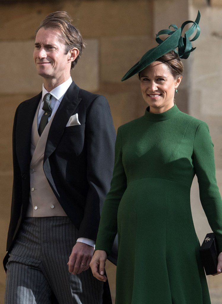 Pippa Middleton Newborn Daughter Middle Name Honors Duchess Kate Middleton James Matthews