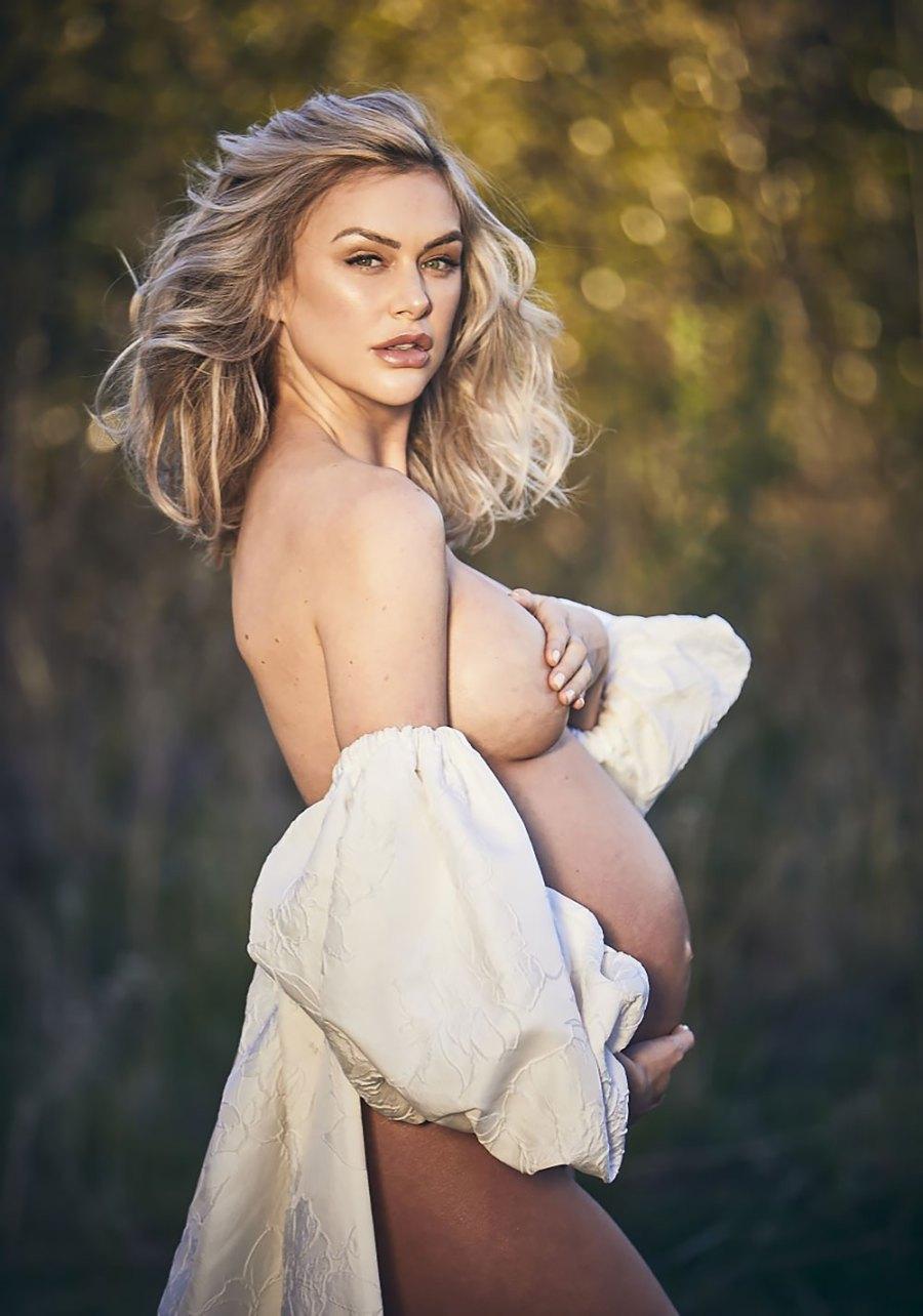 Pregnant Lala Kent Stuns in Nude Maternity Shoot Photos