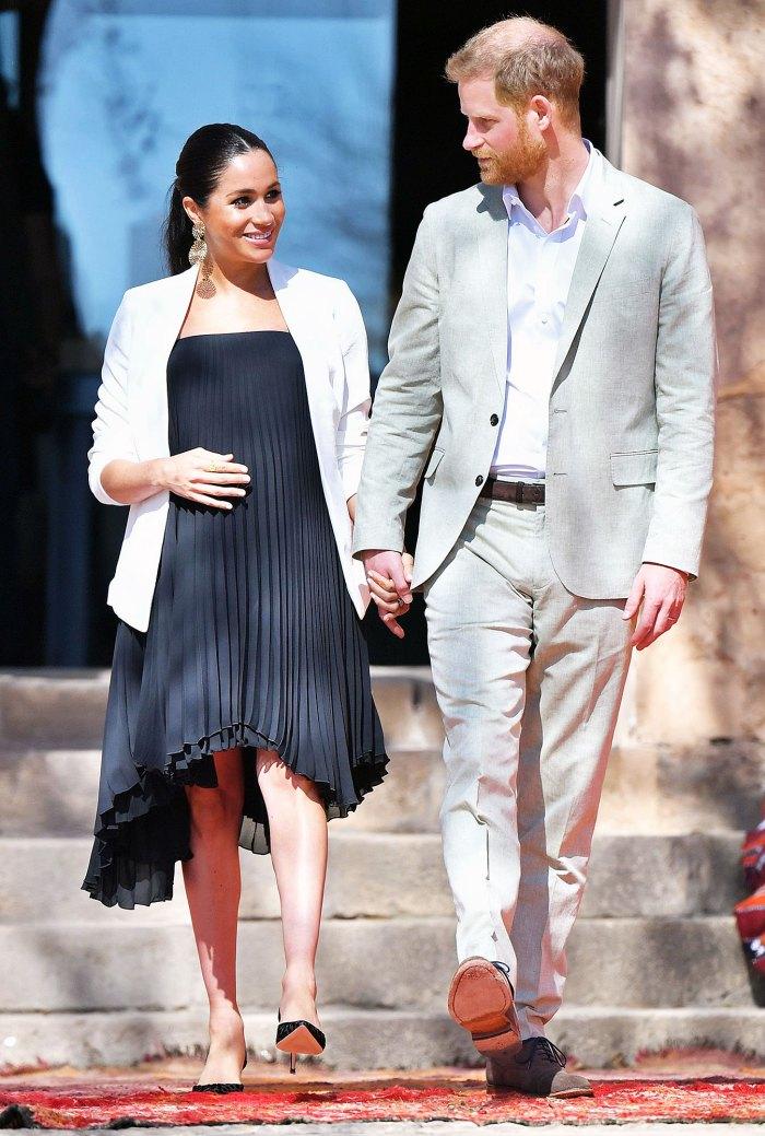 La embarazada Meghan Markle y el príncipe Harry revelan el sexo de su segundo hijo