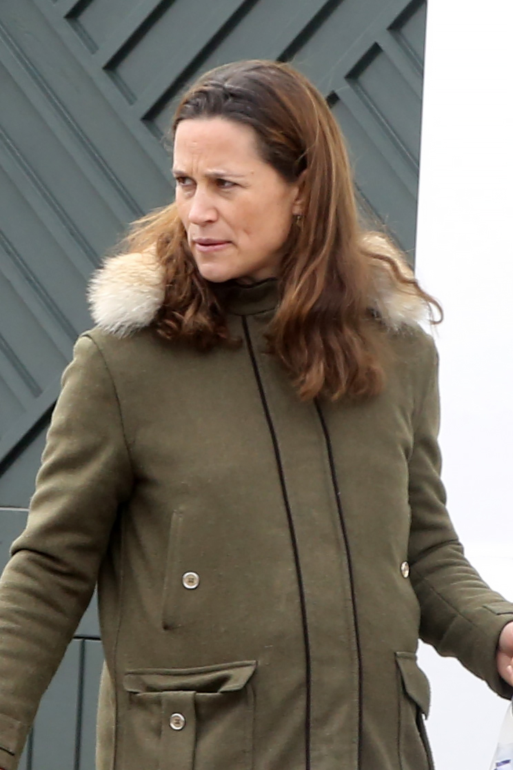 Pippa Middleton Steps Out With Her Baby Bump on Display After Mom Carole Middleton Confirms Pregnancy