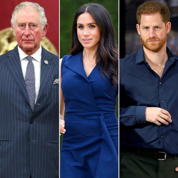 El príncipe Carlos ha 'tomado la iniciativa' en la respuesta del palacio a Meghan Markle y el príncipe Harry, dice un experto