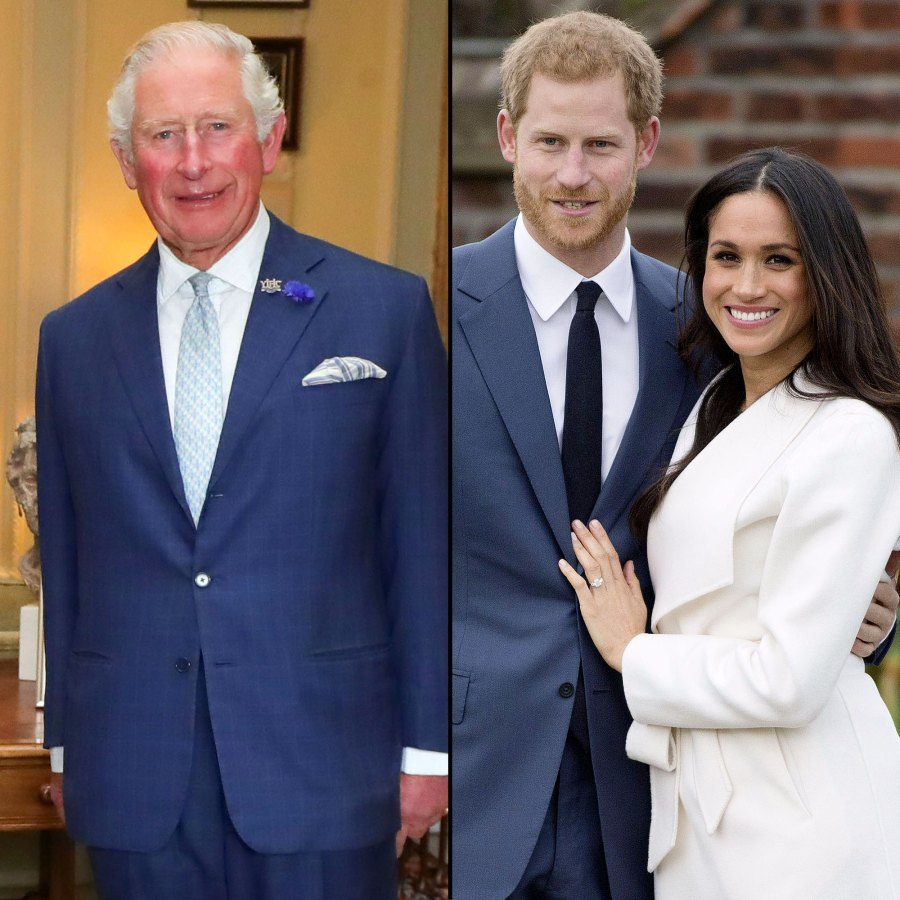 Prince Charles Laughs at Question About Prince Harry and Meghan Markle Interview at Royal Engagement