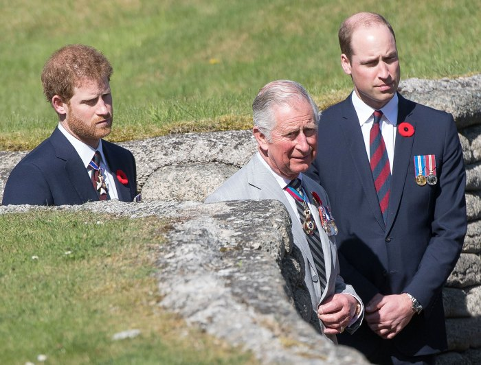 Prince Harry Has Spoken to Prince Charles and Prince William