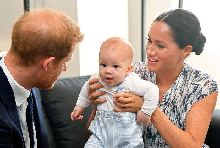 El príncipe Harry Meghan Markle y Archie en Ciudad del Cabo, el Palacio de Buckingham, insiste en un protocolo para que Archie no tenga un título