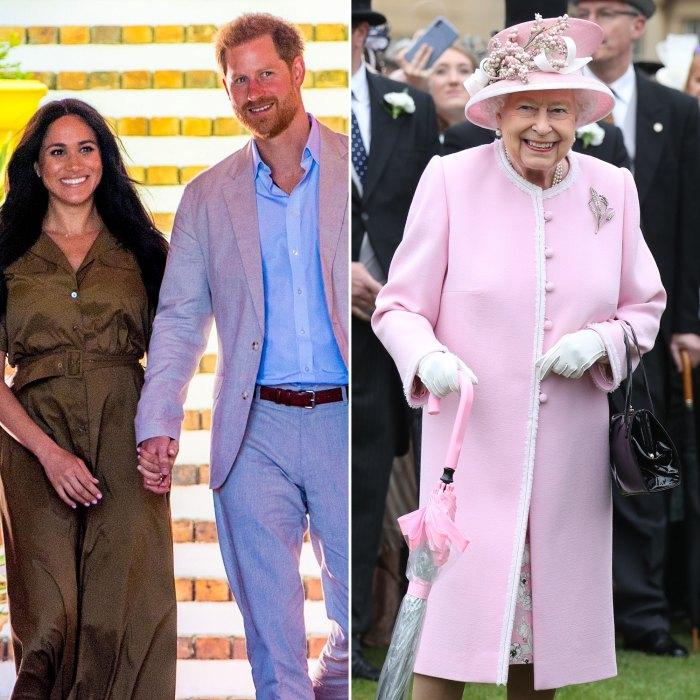 Prince Harry and Meghan Markle Have 'a Great Relationship' With Queen Elizabeth II Ahead of Their Tell-All Interview