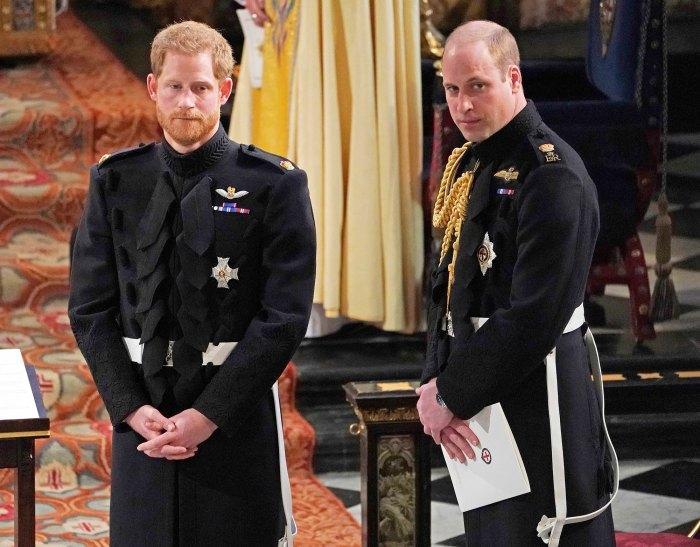 La tensa llamada telefónica del príncipe Harry con el hermano William